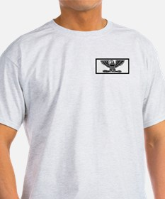 USPHS Captain <BR>Grey T-Shirt