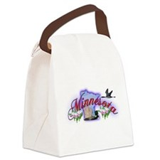 Minnesota.png Canvas Lunch Bag