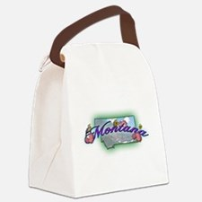 Montana.png Canvas Lunch Bag