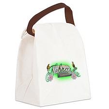Nebraska.png Canvas Lunch Bag