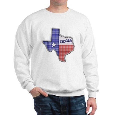Plaid Texas Sweatshirt