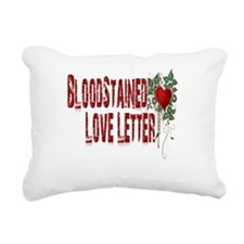blood stained love letter mug.png Rectangular Canv