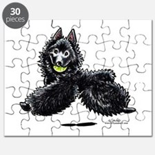 Schipperke Lets Play Puzzle