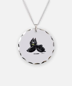 Schipperke Lets Play Necklace