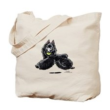 Schipperke Lets Play Tote Bag