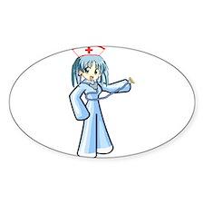 Anime Nurse with Stethoscope Decal
