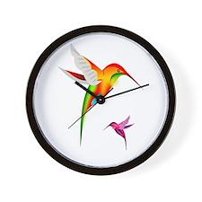 Hummingbirds_colibri_Transp_12b17.png Wall Clock