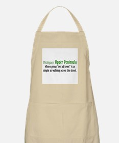 Going Out Of Town BBQ Apron