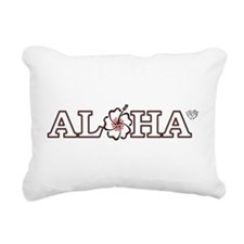 ALOHA Rectangular Canvas Pillow