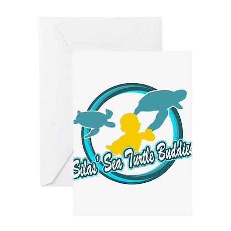 Silas Sea Turtle Buddies Greeting Card