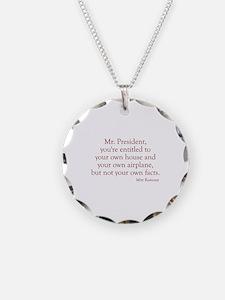 Romney-Obama Debat Quote Necklace