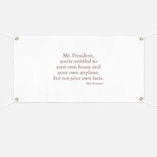 Romney-Obama Debat Quote Banner