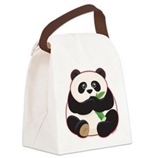 Fat Panda Canvas Lunch Bag