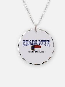 Charlotte, North Carolina NC USA Necklace