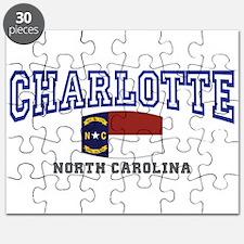 Charlotte, North Carolina NC USA Puzzle