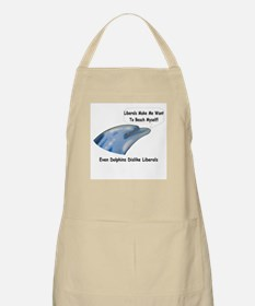 Even Dolphins Dislike LIberal BBQ Apron