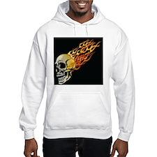 Flaming Skull Hoodie