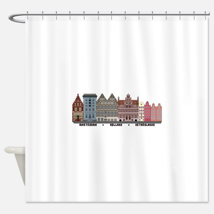 Amsterdam Holland Shower Curtain