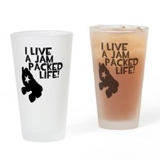 Jam Packed Life Drinking Glass