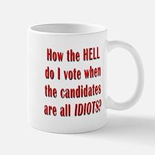 How the Hell Do I Vote Mug