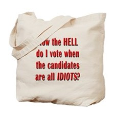 How the Hell Do I Vote Tote Bag