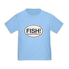 KeepAmericaFishing Logo Toddler T-Shirt