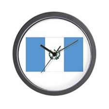 Guatemala Wall Clock