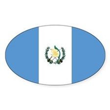 Guatemala Oval Decal