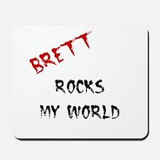 Brett Rocks Mousepad