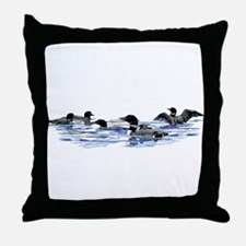 Lots of Loons! Throw Pillow