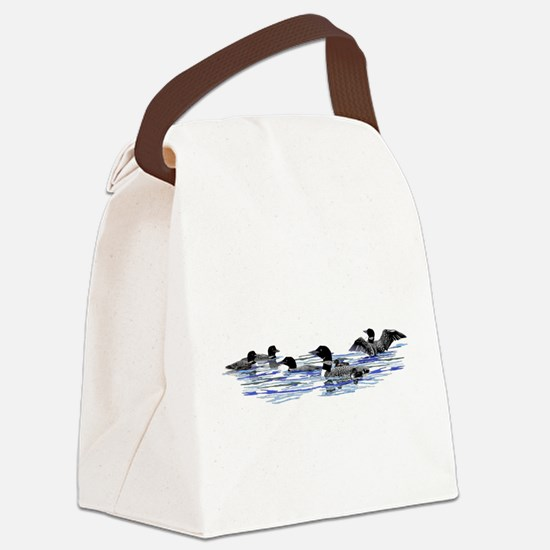 Lots of Loons! Canvas Lunch Bag