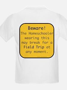 Homeschooler Field Trip Kids T-Shirt