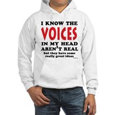 Voices In My Head Hoodie