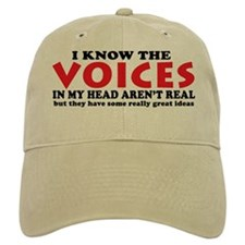 Voices In My Head Baseball Cap