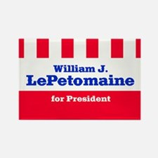 William J. LePetomaine - Rectangle Magnet