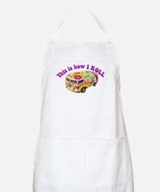 How I Roll (Hippie Van) BBQ Apron