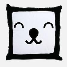 dat face Throw Pillow