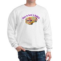 How I Roll (Hippie Van) Sweatshirt