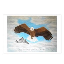 Eagle with Scripture Postcards (Package of 8)