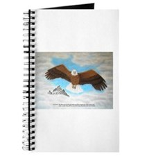 Eagle with Scripture Journal