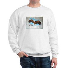 Eagle with Scripture Sweatshirt