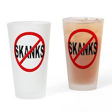 Anti / No Skanks Drinking Glass