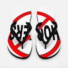 No / Anti Hookers Flip Flops