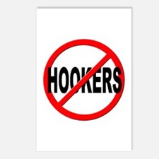 No / Anti Hookers Postcards (Package of 8)