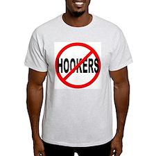 No / Anti Hookers T-Shirt