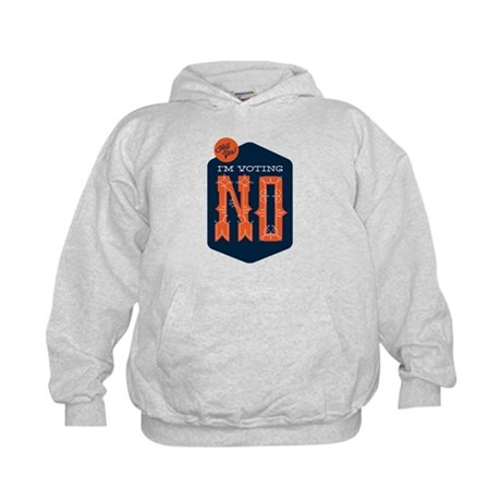 Hell Yes! I'm Voting NO Kids Hoodie