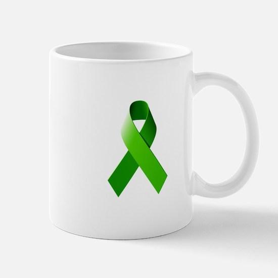 Green Ribbon Mug