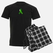 Green Ribbon Pajamas