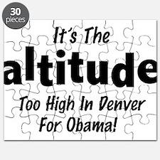 Anti Obama - Denver Altitude Puzzle
