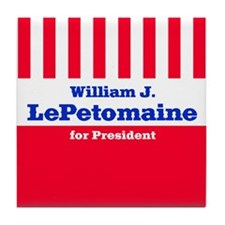 William J. LePetomaine - Tile Coaster